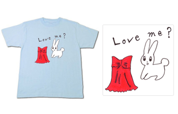 Love me? Tシャツデザイン