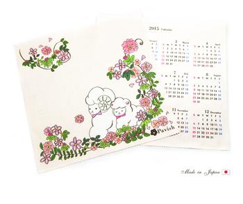 Rakupuri様コラボ 2015年限定カレンダークロス(Pink)