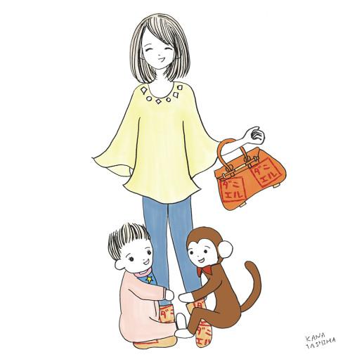 ★初登場★赤ちゃんのママはとってもおおらかなおしゃれさん!
