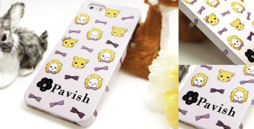 Pavish ライオンiPhoneケース