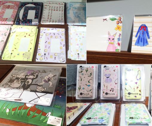 MONOTIAM(エトワール海渡)、雑貨展示販売 Pavish