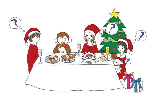 Tirck by daniel さるのダニエルのクリスマスイブ