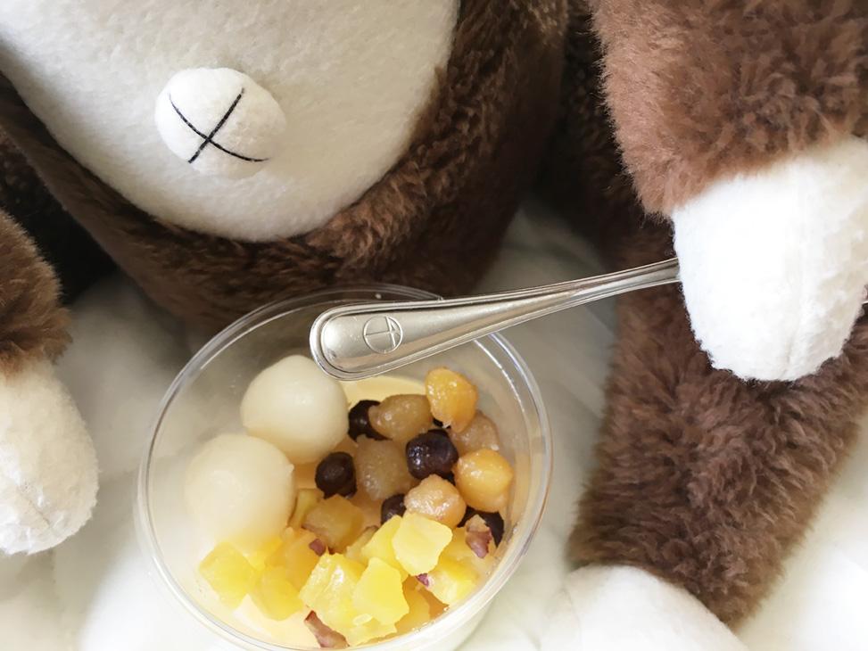 モーモーチャーチャーを食べるさるのダニエル(Trick by daniel)