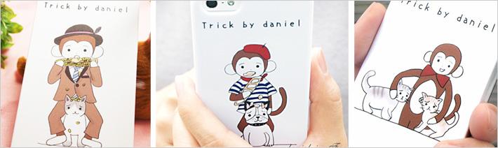 Trick by daniel(さるのダニエル) 5、5S、SEiPhoneケース